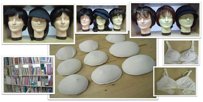 Wigs, Information, Temporary Prosthesis & Mastectomy Bras